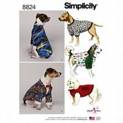 8824 Simplicity Pattern: Dog Coats